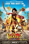 The Pirates! Band of Misfits Movie Poster