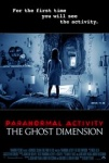 Paranormal Activity: The Ghost Dimension dvd release date