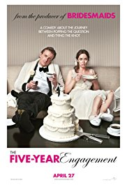 The Five-Year Engagement (2011) Poster