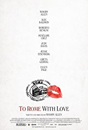 To Rome with Love (2012) Poster