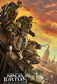 Teenage Mutant Ninja Turtles: Out of the Shadows dvd release date