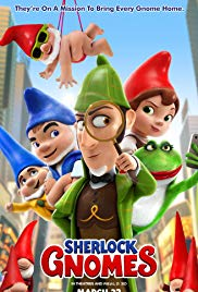 Image result for sherlock gnomes dvd